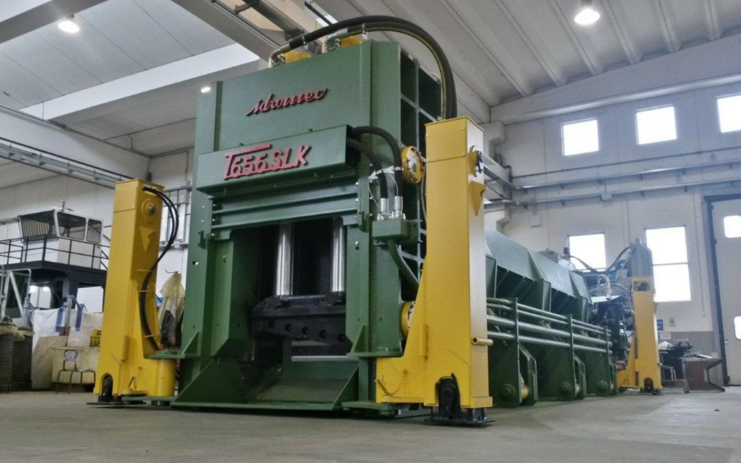 Mobile Shear Balers
