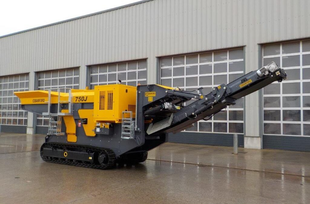 BARFORD 750J TRACKED DUAL POWER JAW CRUSHER